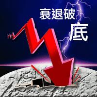 營收衰退股價破底